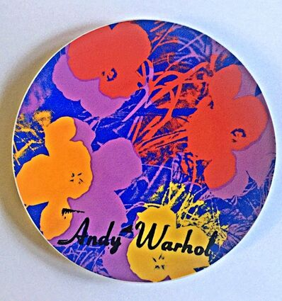 Andy Warhol, 'Flowers, Rare Limited Edition Plate Signed and Numbered Porcelain Plate in original presentation box', ca. 1995