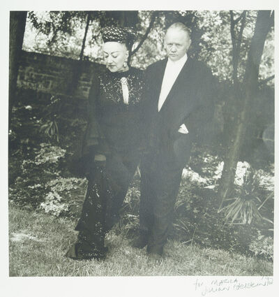Jillian Edelstein, 'Marika and Dudley Sutton', 1992