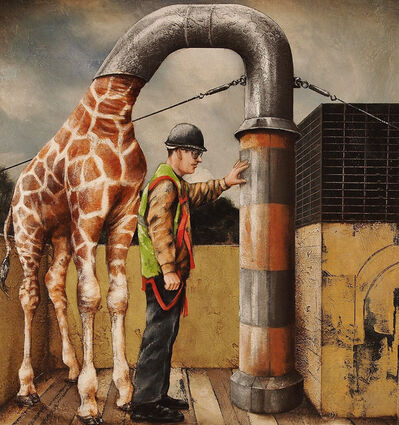 Tyson Grumm, 'Giraffescope', 2014
