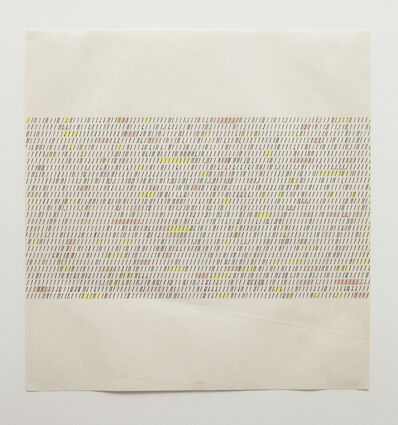 Brian O'Doherty, 'Typewriter Drawing', 1967
