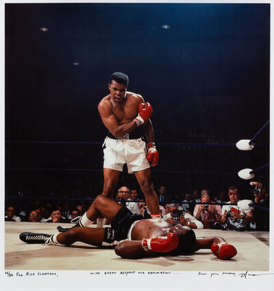 Neil Leifer, 'Muhammad Ali vs. Sonny Liston, St. Dominic's Arena, Lewiston, Maine'