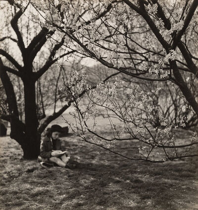 John Albok, 'The Artist, Central Park, New York', 1933