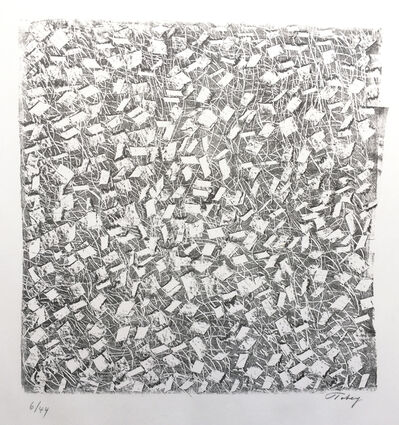 Mark Tobey, 'Litho No. 8', 1969