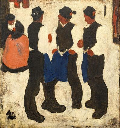 Alfons Walde, 'Sunday', ca. 1920