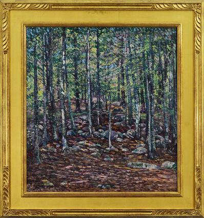 Charles S Kaelin, 'Woodlands'