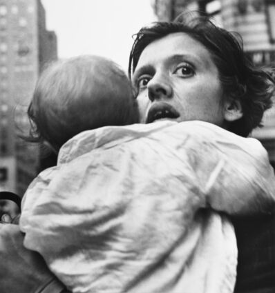 Leon Levinstein, 'Mother and Child, Herald Square, New York', 1965