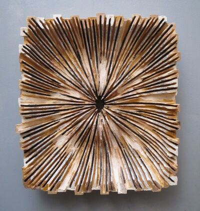 Hideaki Yamamoto, 'Indication-diffusion(white)', 2015