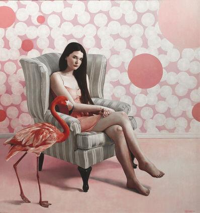 Shaun Downey, 'Elly Flamingo', 2014