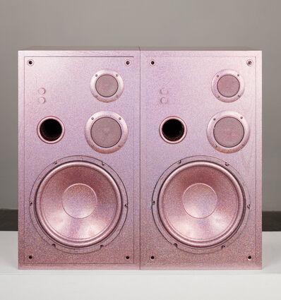 Sadie Barnette, 'Untitled (Medium Pink Speakers Set)', 2019