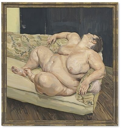 Lucian Freud, 'Benefits Supervisor Resting', 1994
