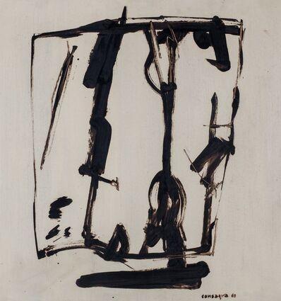 Pietro Consagra, 'Progetto di scultura', 1960