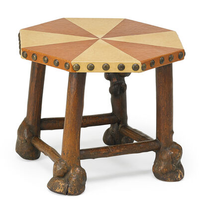 Thomas Molesworth, 'Rare lamp table, Cody, WY', 1932-33