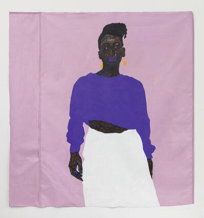 Amoako Boafo, 'Joy in Purple', 2019