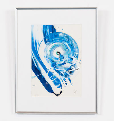 Kazuo Shiraga, 'Work (Blue Spiral)', 0