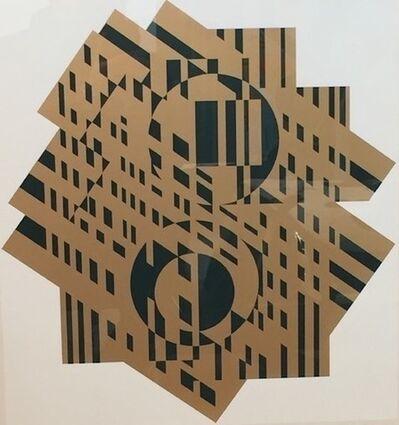 Victor Vasarely, 'Composition géométrique', 1965