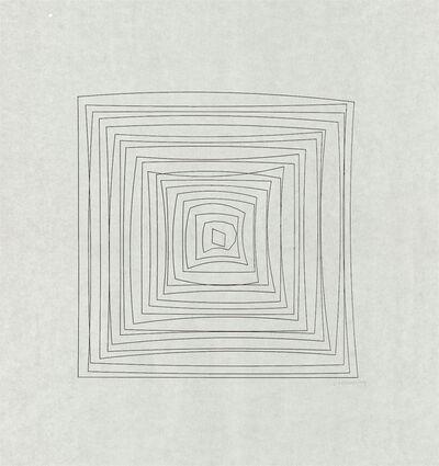 Vera Molnar, 'Hypertransformation', 1974