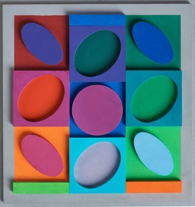 Victor Vasarely, 'Sellem. Positif', 1967