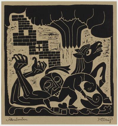 Henry Heerup, 'Atombomben (The Atomic Bomb)', 1961