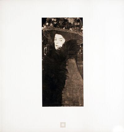Gustav Klimt, 'Lady in a Flowered Hat [Gustav Klimt An Aftermath]', 1931