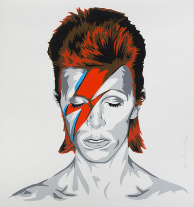 Mr. Brainwash, 'Bowie', 2016