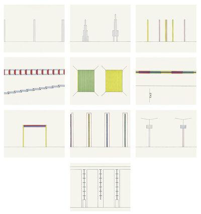 Dan Flavin, 'Projects 1963-95', 1997