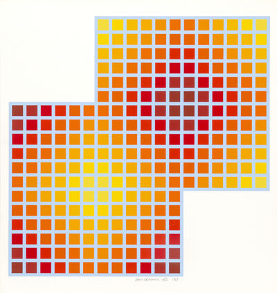 Richard Anuszkiewicz, 'Double Square', 1969
