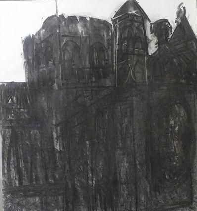 Dennis Creffield, 'St Albans Cathedral', 1988