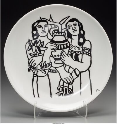 Fernand Léger, 'Untitled (Women with plants)'