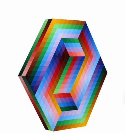 Victor Vasarely, 'Kezdi', 1989-1990
