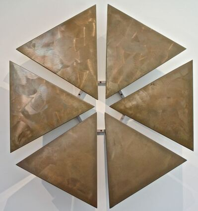 George Rickey, 'Six Triangles In A Hexagon', 1978