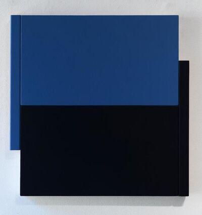 Scot Heywood, 'Shift -- Black Blue / Blue', 2014