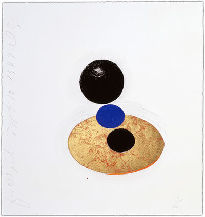 Donald Sultan, 'Five Objects, Sept 12, 1999', 1999