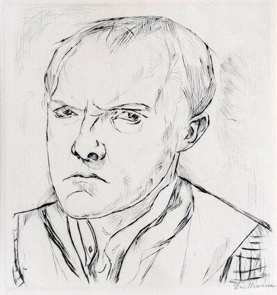 Max Beckmann, 'Self Portrait', 1918