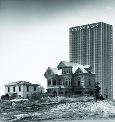 Julius Shulman, 'The Castle, 325 S. Bunker Hill Avenue, Los Angeles, California, (Demolished 1969)', ca. 1968