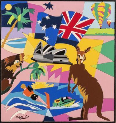Ugo Nespolo, 'Australia'