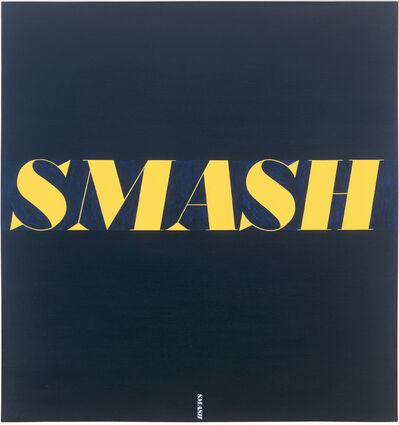 Ed Ruscha, 'Smash', 1963