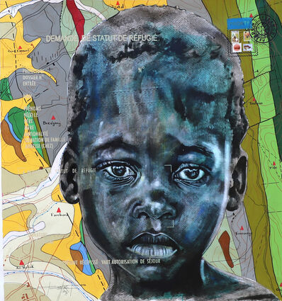 Jean David Nkot, 'BP4740 Zone tampon', 2019