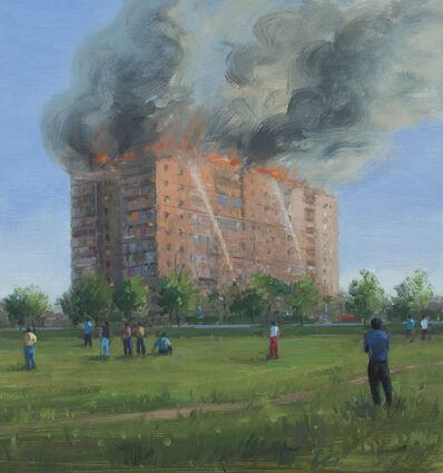 Serban Savu, 'Fire', 2014