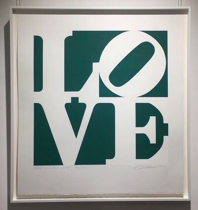 Robert Indiana, 'Greenpeace Love', 1994