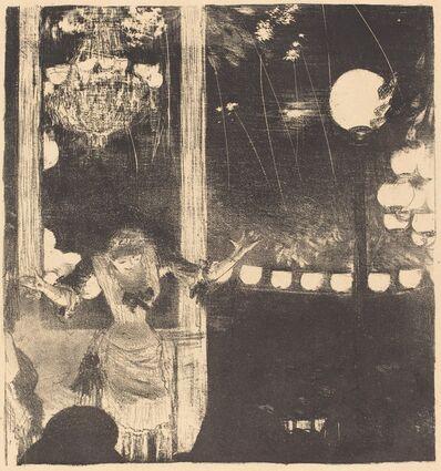 Edgar Degas, 'Mademoiselle Bécat at the Cafe des Ambassadeurs (Aux Ambassadeurs: Mlle Bécat)', ca. 1877