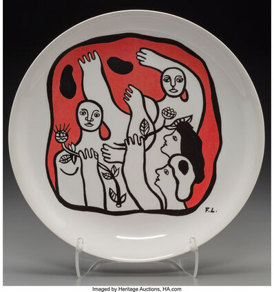 After Fernand Léger, 'Untitled (Figures in red)', circa 1970s