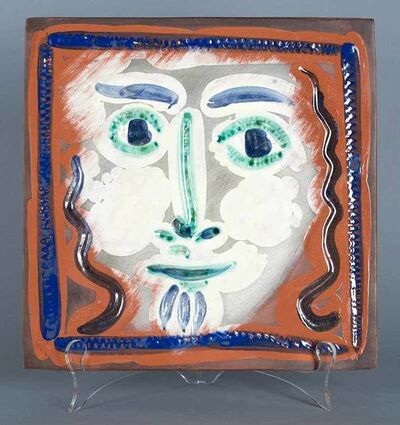 Pablo Picasso, 'Visage aux cheveux bouclés (Curly Haired Face)', 1968-1969