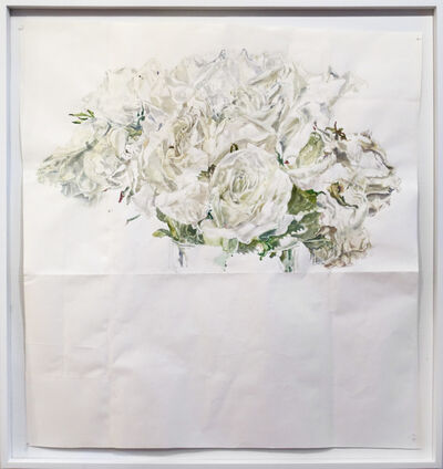 Dawn Clements, 'White Roses', 2015