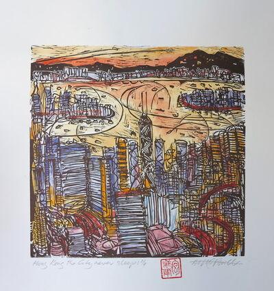 Arthur Ted Powell, 'Hong Kong never sleeps', 2015