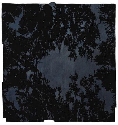Maysey Craddock, 'a moon is a threading sky', 2017