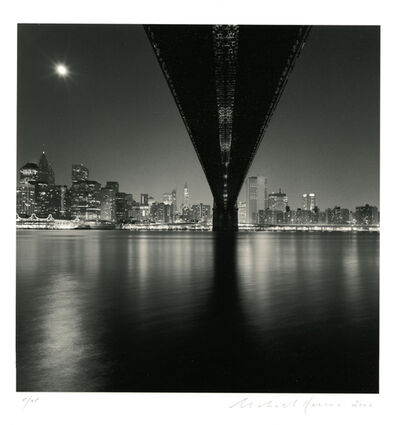 Michael Kenna, 'Brooklyn Bridge, Study 2, New York', 2006