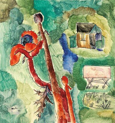 Max Weiler, 'Gartenhaus', 1953