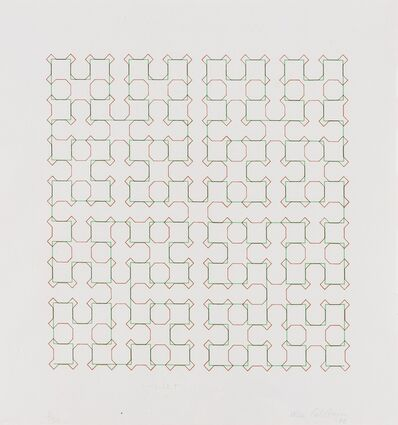 Gillian Wise, 'Interlace: Double Lattice', 1978
