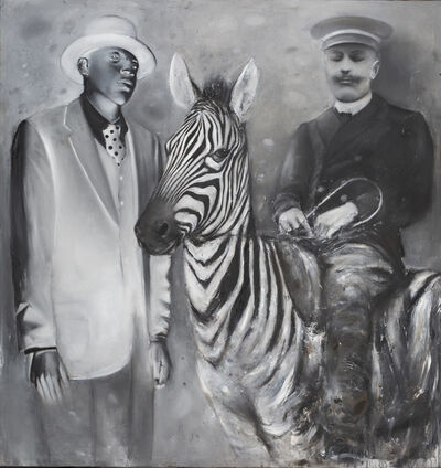 Ransome Stanley, 'STILL RIDING THE ZEBRA', 2019
