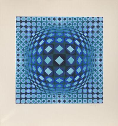 Victor Vasarely, 'Kezdi Ga', 1970